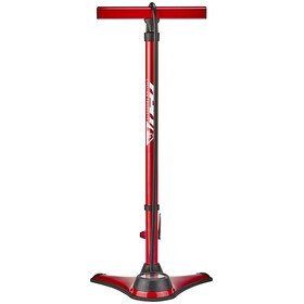 Red Cycling Products Big Air Easy Pressure Bike Pump red